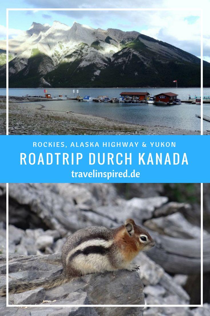 Kanada Roadtrip vom Waterton Nationalpark durch die Rocky Mountains bis nach Yukon. Jede Menge Wildlife und atemberaubende Landschaft erwartet dich.