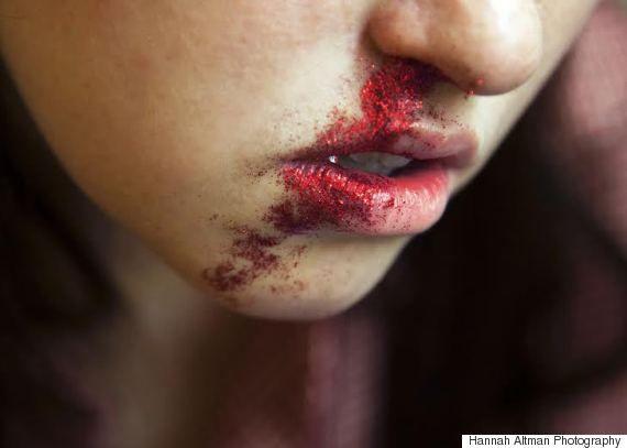 nosebleed glitter