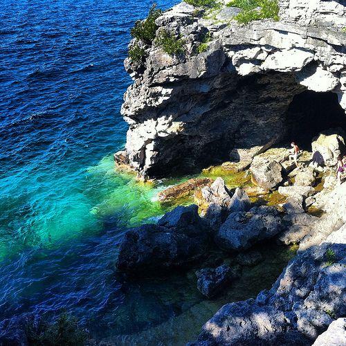 Bruce Peninsula National Park - Canada's Caribbean treasure! See more details here  http://renegadechicks.com/aquatic-adventures-in-canada/