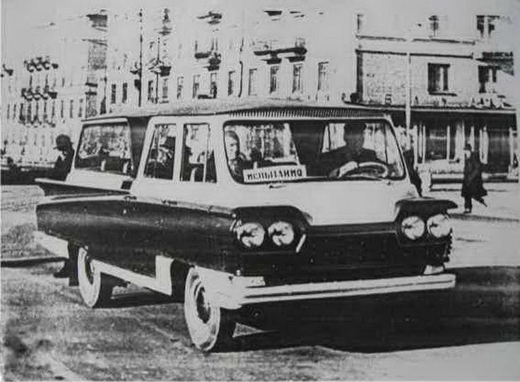 Судьба самого красивого советского микроавтобуса - Мастерок.жж.рф