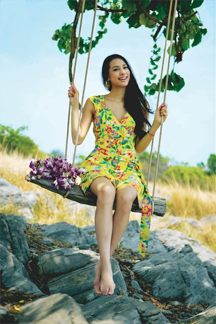 Kate Spade Fashion at Koh Si Chang Savanna, Thailand