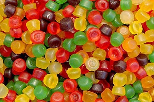 Floral gums - always were and still are my favourite sweets.
