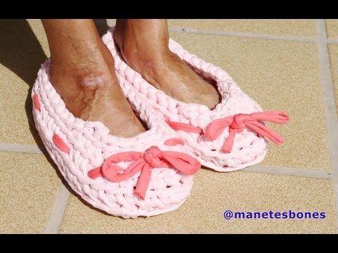 Zapatillas con trapillo