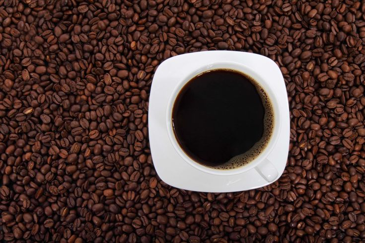 #beans #beverage #black coffee #caffeine #coffee #coffee beans #coffee drink #cup #cup of coffee #drink #espresso #fresh #from above #saucer #public domain images