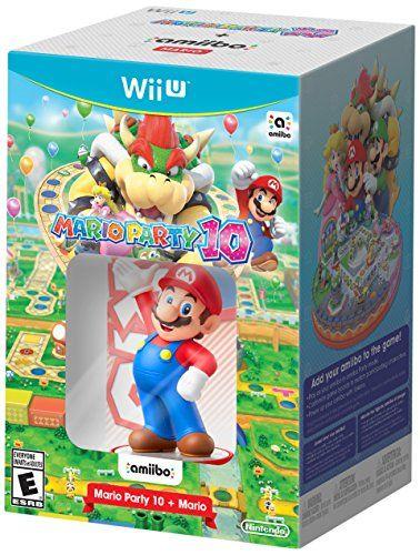 Mario Party 10 + Peach amiibo – Wii U  http://gamegearbuzz.com/mario-party-10-peach-amiibo-wii-u/