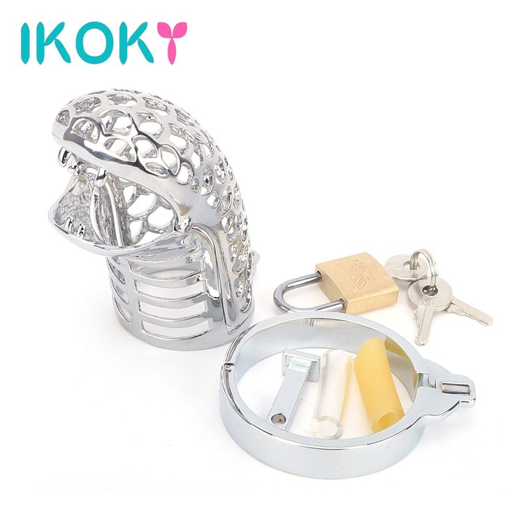 16.73$  Buy now - IKOKY Snake Totem Male Chastity Device Cock Rings Chastity Lock Belt Penis Rings Various Sizes Sex Toys for Men Male Cock Cage  #magazineonlinebeautiful