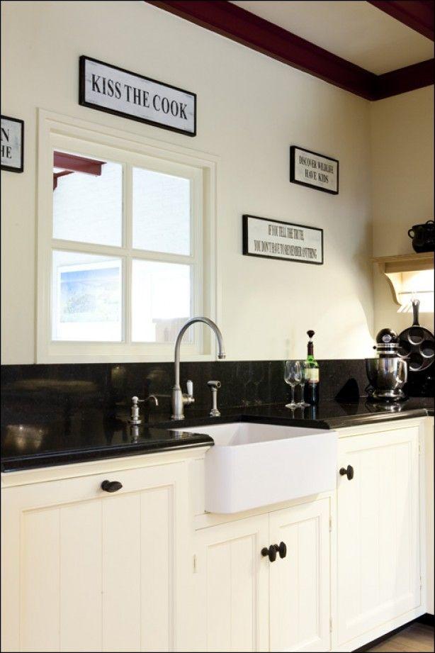 17 beste afbeeldingen over keuken op pinterest rustieke vloeren kasten en wastafels - Porselein vloeren ...