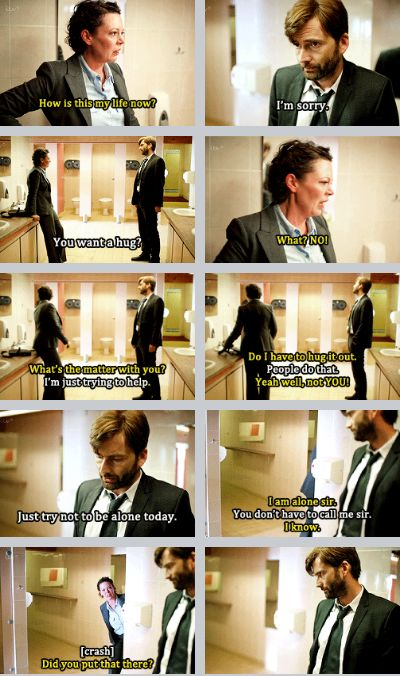 THIS is my favourite scene. I especcially love the last bit where she walks into a sighn