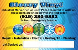 HVAC Business Sticker 3