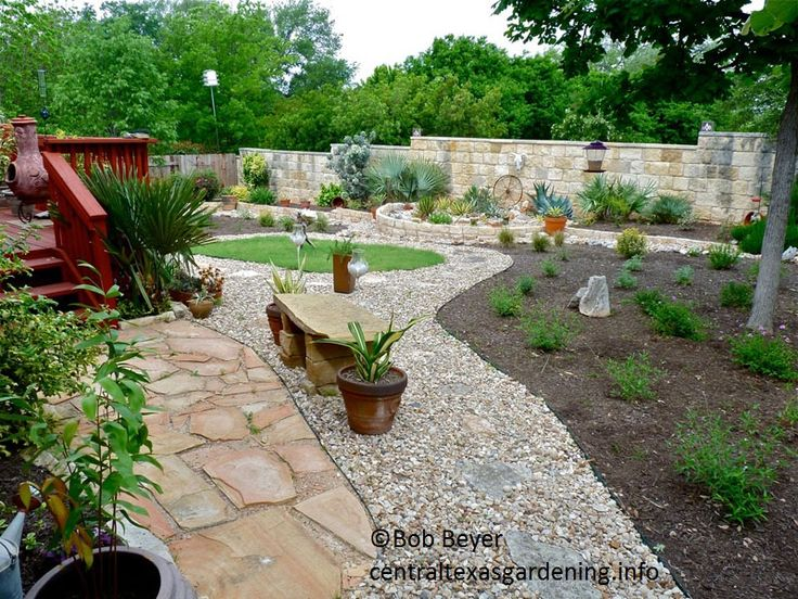 Backyard landscaping ideas without grass mystical - Cheap no grass backyard ideas ...