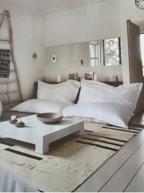 Giant pillow seats, rumpy room?  Not so square tho.