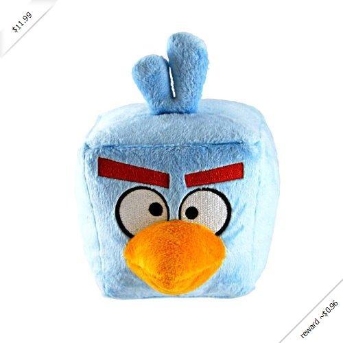 "Angry Birds 5"" Space Ice Bird Plush with sound"
