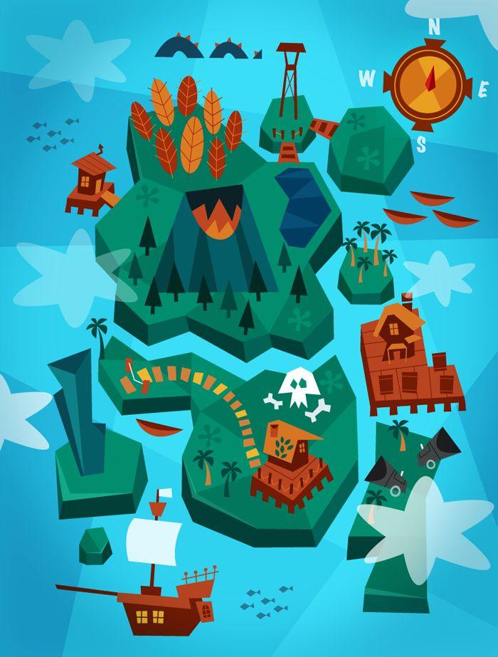 Land Ahoy by Momo  Sprits http://www.facebook.com/momoandsprits