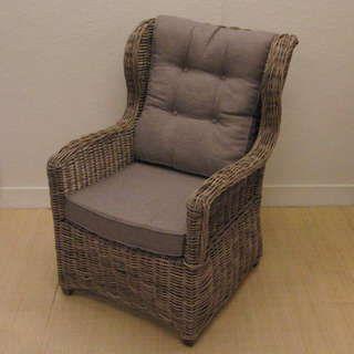 17 beste idee n over rieten stoelen op pinterest wit for Kussens voor op stoelen