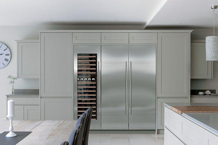 "Sub-Zero 30"" side by side fridge and freezer"