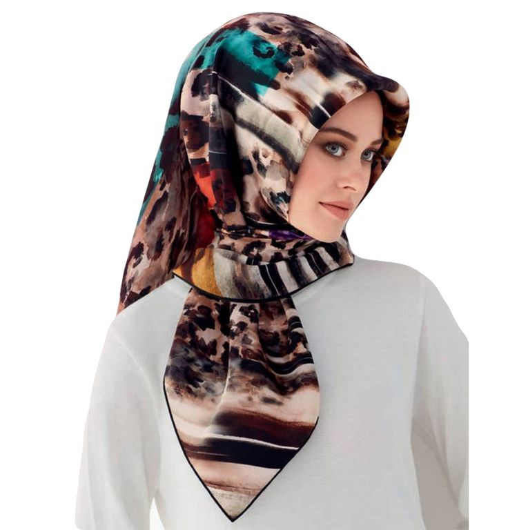 Armine Silk Hijab Scarf Fall 2016 - Winter 2017 #7566