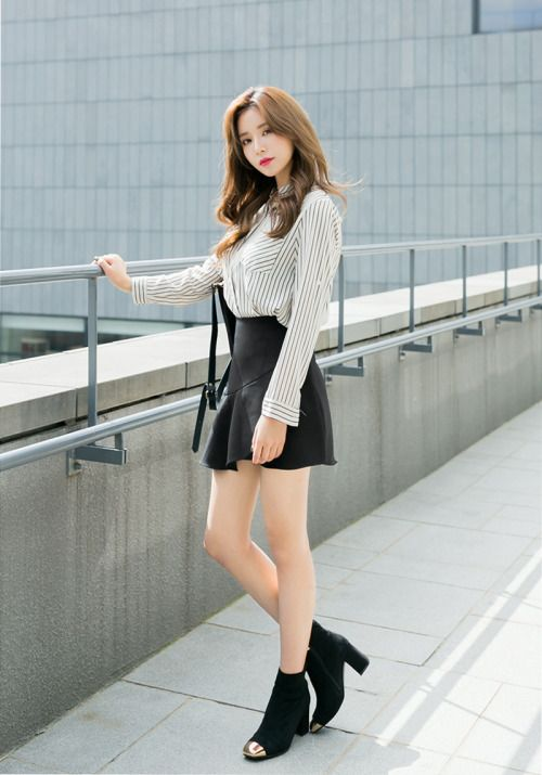 Soft Leather Wrap SkirtPants