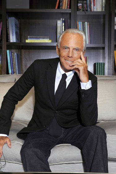 I love this interview with Giorgio Armani. He shares with us, how he spends his day. I highly recommend you read it.