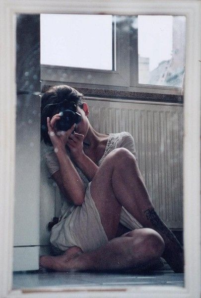 Self Portrait   Mirror   Girl with Camera