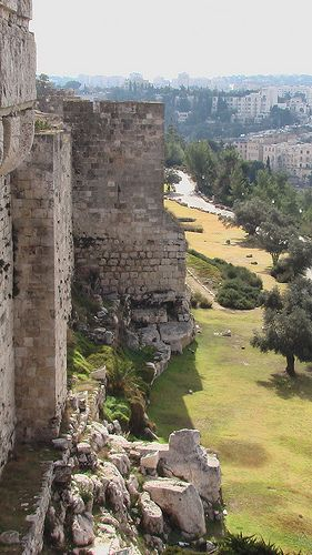 Old walls . Jerusalem