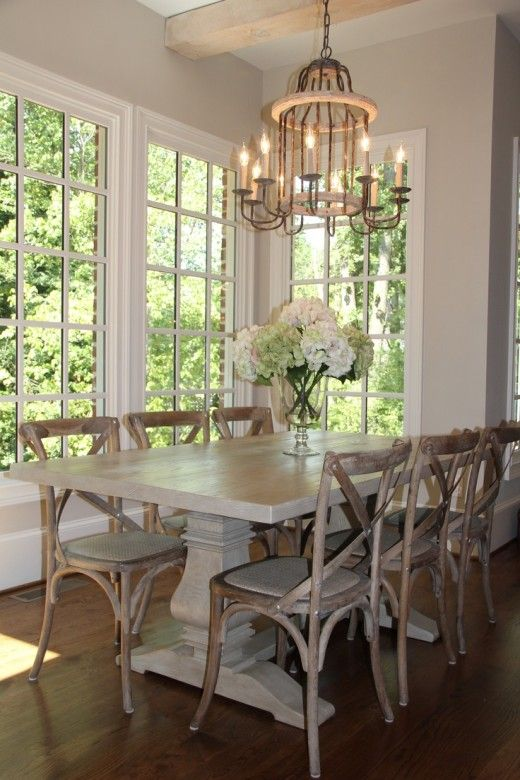 94 Best Images About Farmhouse Tables On Pinterest