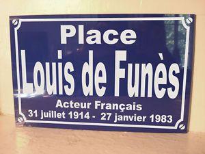 Personnalisation-Plaque-de-Rue-Place-LOUIS-DE-FUNES