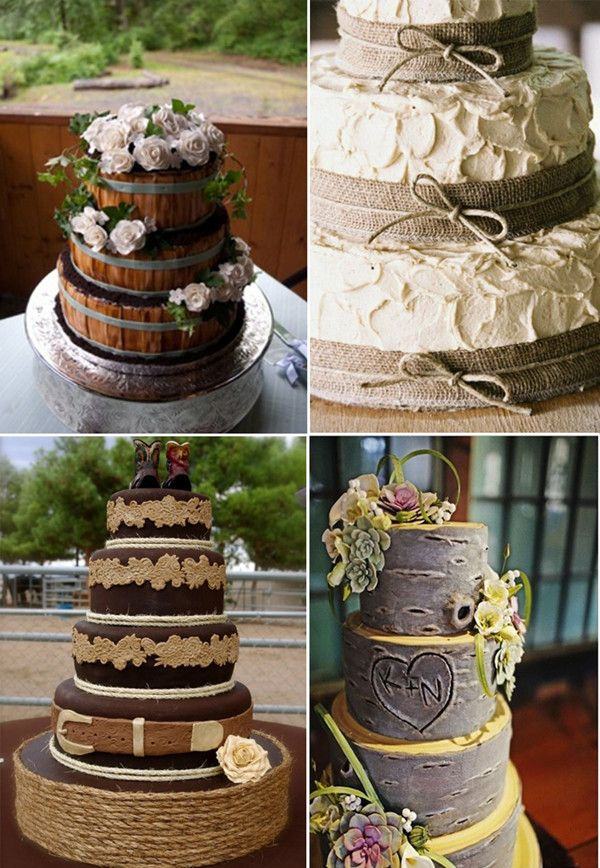 How to Plan a Country Themed Wedding-8 Perfect Ways Recommended -InvitesWeddings.com this cake