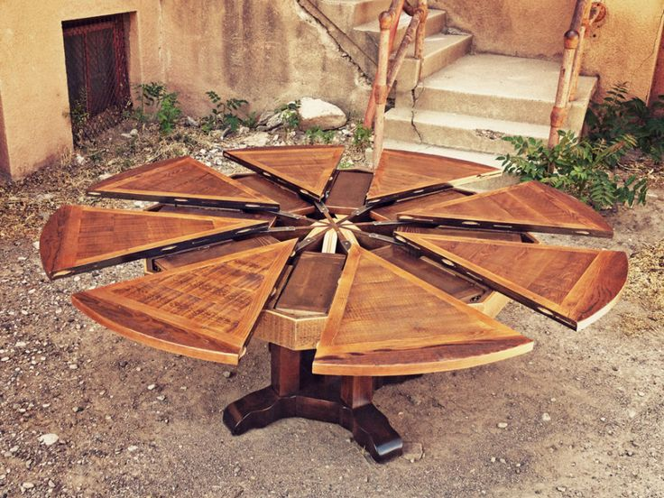 Expanding Round Table From Western Heritage Furniture Available Online. Saw  One Of These At The