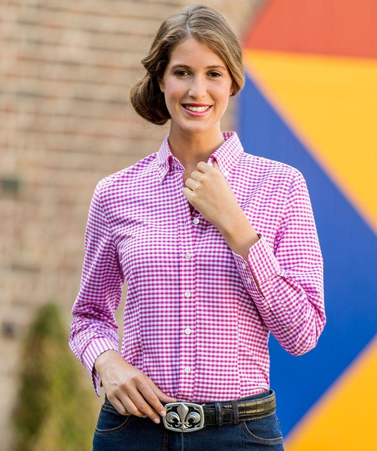 Bluse, mehrfarbig aus Baumwoll-Popeline zum fairen Preis