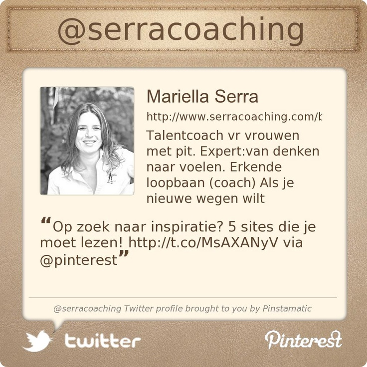@serracoaching's Twitter profile courtesy of @Pinstamatic (http://pinstamatic.com)