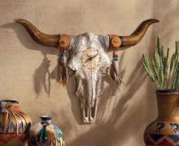 Google Image Result for http://www.decor-medley.com/image-files/southwestern-decor-and-furniture-southwestern-bull-skull-horns-wall-clock.jpg