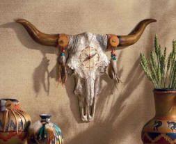 Google Image Result for http://www.decor-medley.com/image-files/southwestern-decor-and-furniture-southwestern-bull-skull-horns-wall-clock.jpg