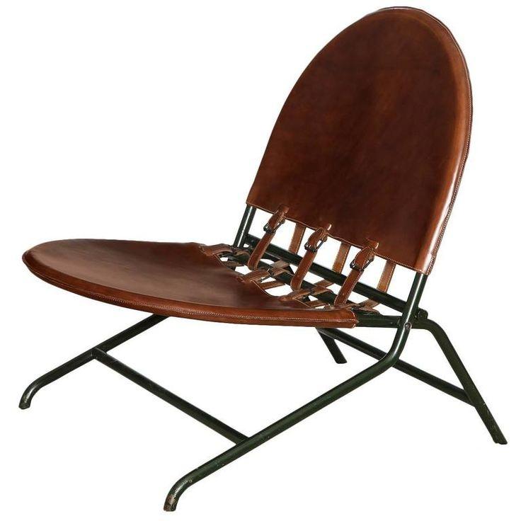 """Rare """"Folding Garden Chair"""" by Ico"""