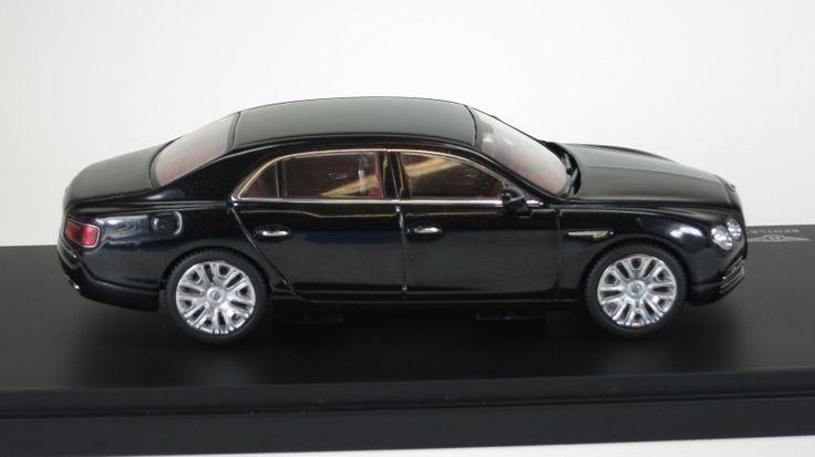 Kyosho 1/43 Bentley Flying Spur W12 ONYX (black) 05561NX