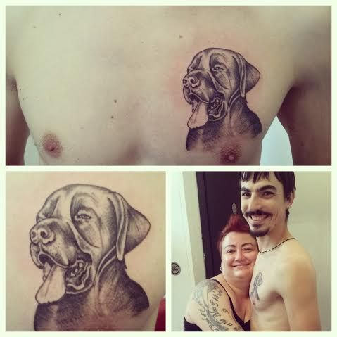 Dog-Eragon Big Friends-Rita La Zia Tattooer