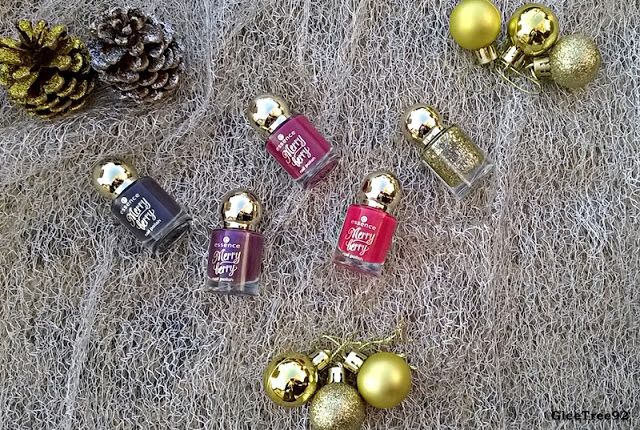 GleeTree92: Essence: Merry Berry Collection: Nail Polish Revie...