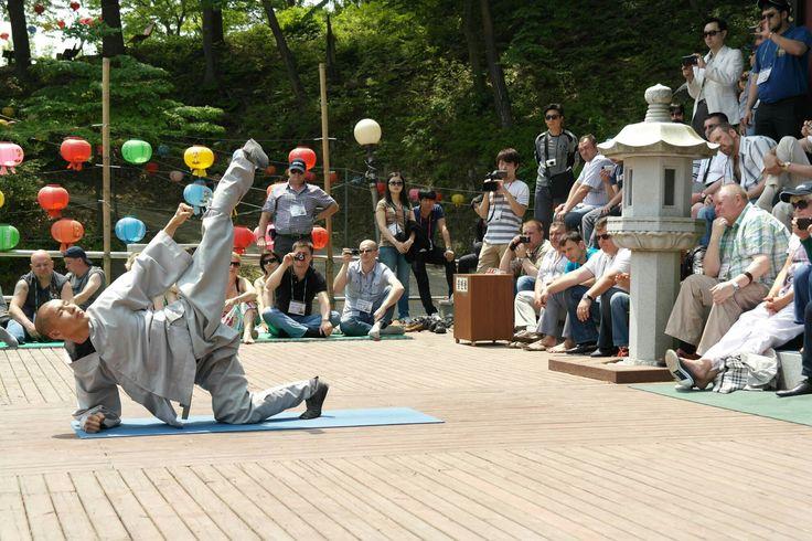 Master Sunmudo performance at Golgulsa