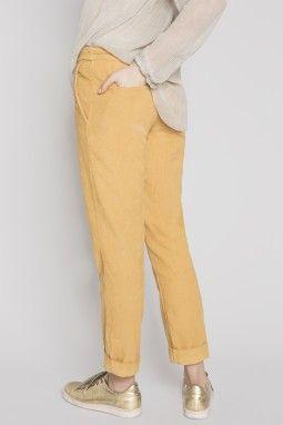 Pantalon NEMOURS camel taille 0