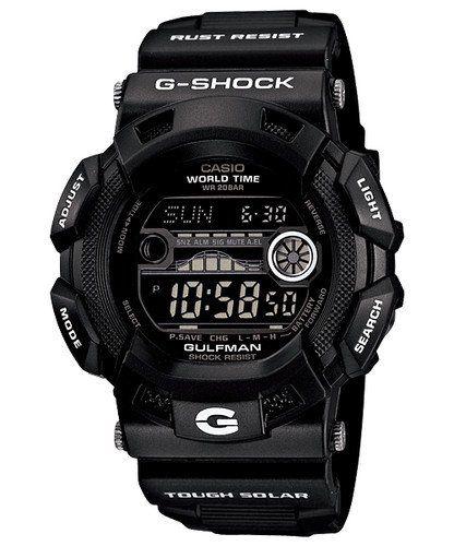 Casio G-Shock Gulfman Tide Moon matte Black Dial Men`s watch military limited edition GR9110BW-1 GR-9110BW-1 ♥