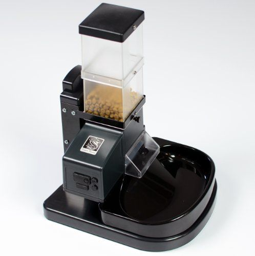 Super Feeder Csf-3 Automatic Cat Feeder W/stand, Bowl, Chute Cover and Analog Timer (4 and 3/4 Cups Capacity) $156