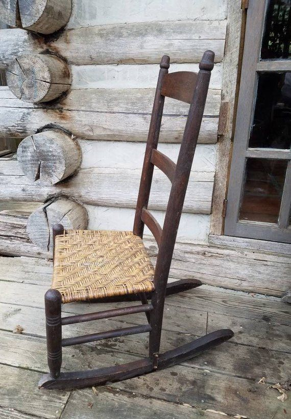 Swell Vintage Rocking Chair Rocking Chairs Rustic Rockers Wooden Spiritservingveterans Wood Chair Design Ideas Spiritservingveteransorg