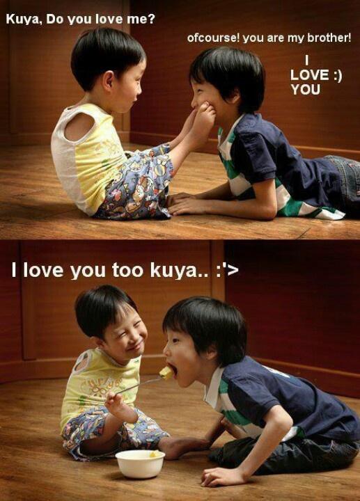 True sibling love ღ