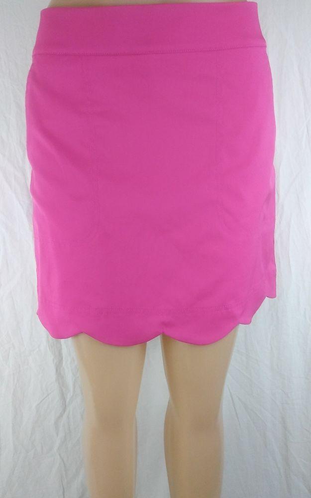 74e2ad22c Vineyard Vines SIZE 8 Pink Scalloped Athletic Golf Tennis Skort Skirt  #VineyardVines #Skort #golf #golf4her #womensfashion #womenswear