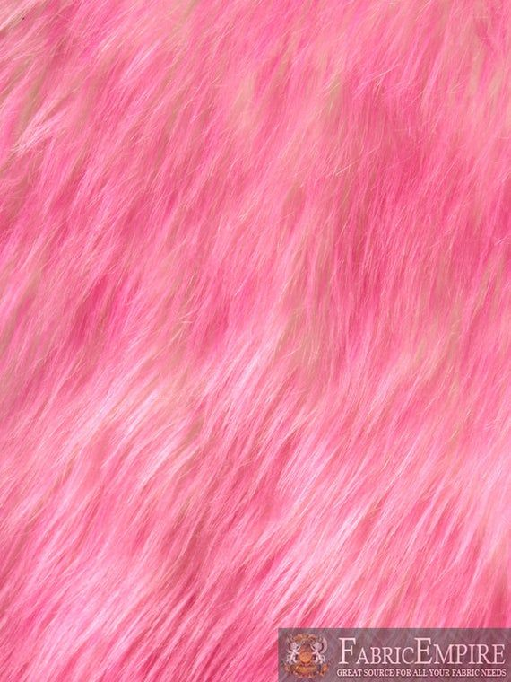 """58/""""// 60/"""" Sold By The Yard Lime Green Swirl Rose Bud Fluff Minky Fur Fabric"""