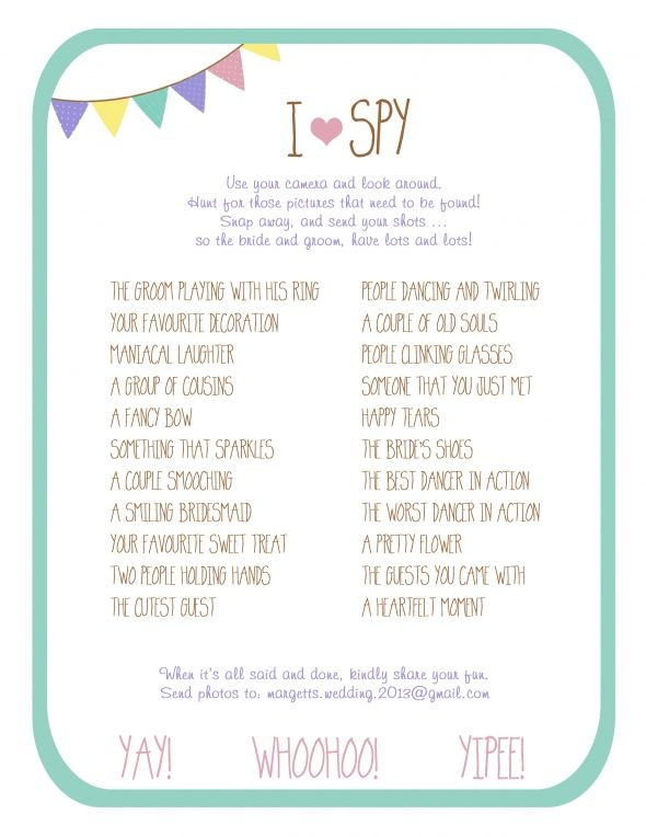 Colourful DIY Fan Program (Digital Files) :  wedding brown ceremony diy fan programs i spy inspiration pink programs purple teal yellow Program Back Compressed 2