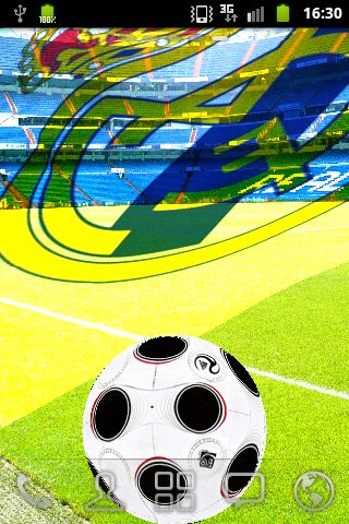 Santiago Bernabéu   Stadium.<br>Real Madrid 3D HD live wallpaper<br>waving flags ,<br>ball with touch event ,<br>Score a goal! !!!!!!!!!!!!!!!!!!!!!!!<br>Real Madrid Club de Fútbol (Spanish pronunciation: [reˈal maˈðɾið ˈkluβ ðe ˈfuðβol]; Royal Madrid Football Club), commonly known as Real Madrid, is a professional football club based in Madrid, Spain.<p>Founded in 1902 as Madrid Football Club, has traditionally worn a white home kit since. The word Real is Spanish for royal and was