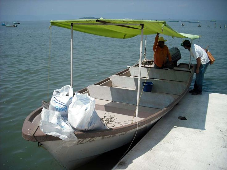 Getting ready to go out on Lake Chapala, Jalisco, Mexico. Aquaculture is new to the lake and we helped inspect the cages. www.davidhaggett.blog