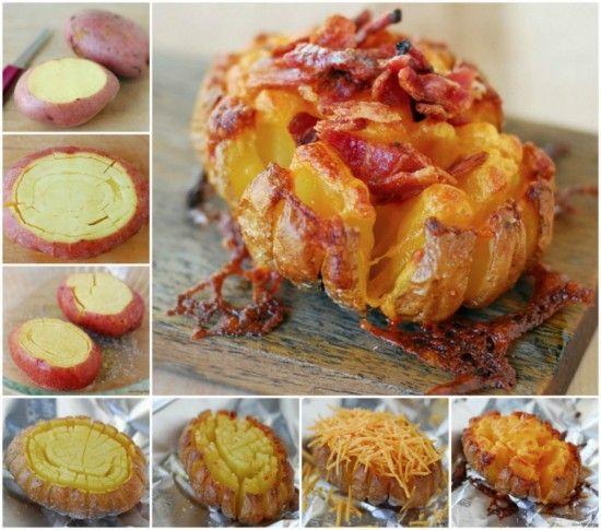Bloomin Potato Video And Super Delicious Recipe | The WHOot
