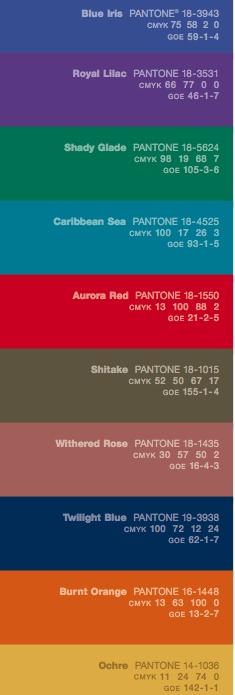 Pantone Color Report Fall 2008