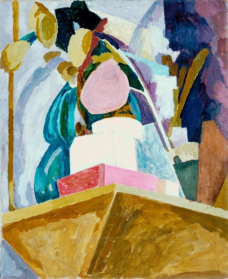 Vanessa Bell 'Still Life on Corner of a Mantelpiece', 1914 © Estate of Vanessa Bell, courtesy Henrietta Garnett